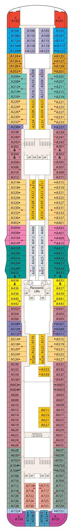 Deck 12 - Aloha Deck