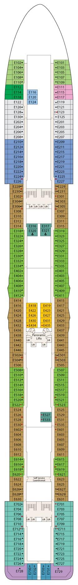 Deck 8 - Emerald Deck