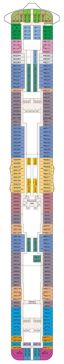 Deck 15 - Marina Deck
