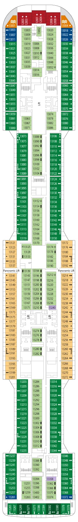 MSC Grandiosa deck plans - Cruiseline.com
