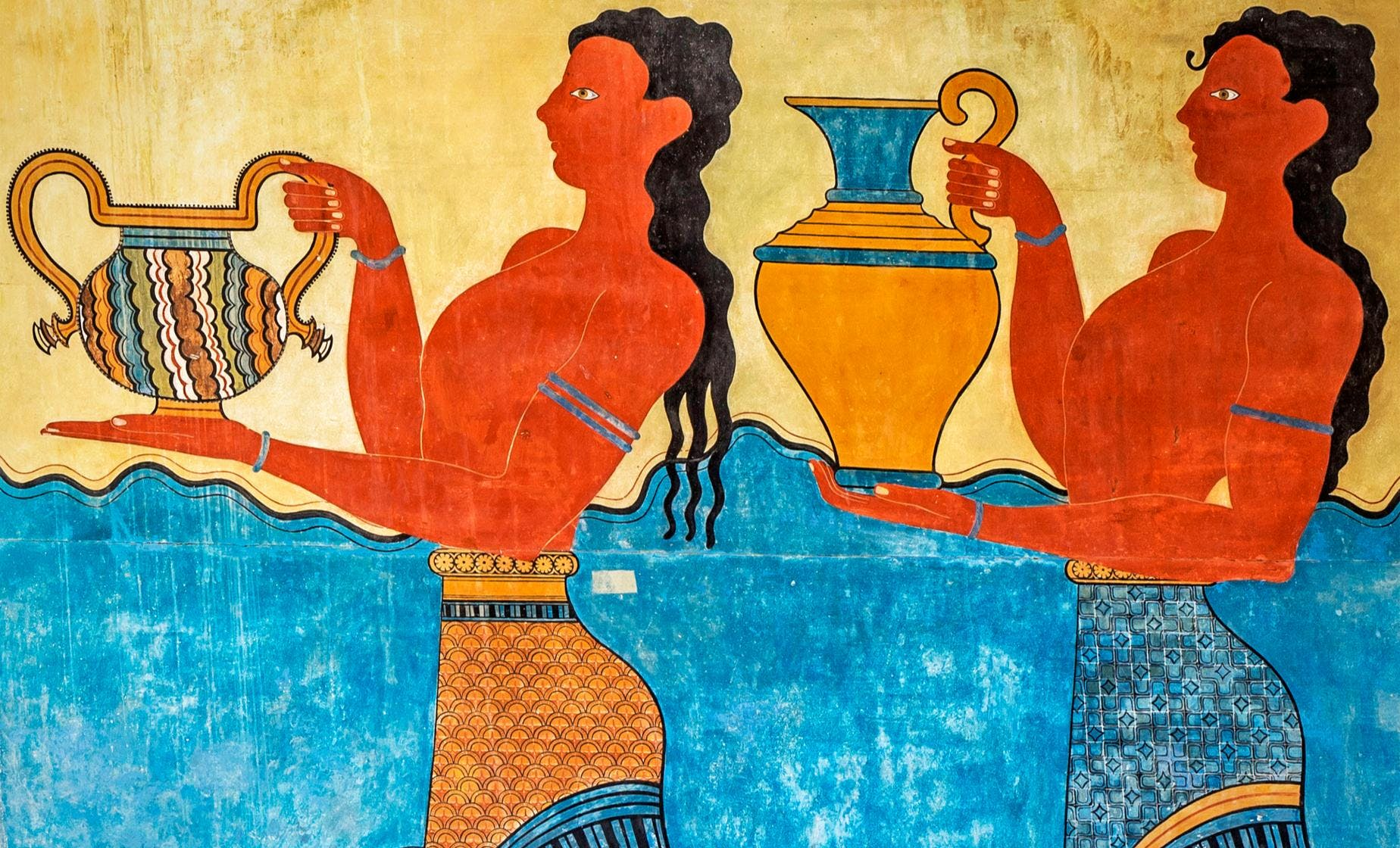 Private Group Knossos, and a Taste of Crete