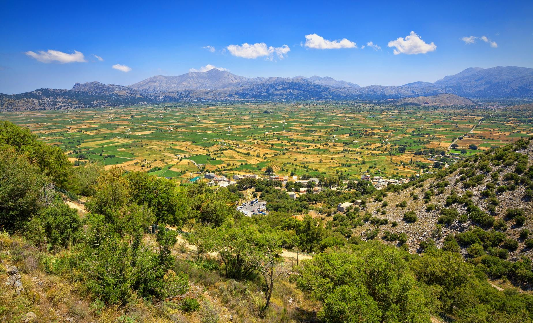 Private Tour to the Lassithi Plateau, Cave of Zeus and Lassinthos