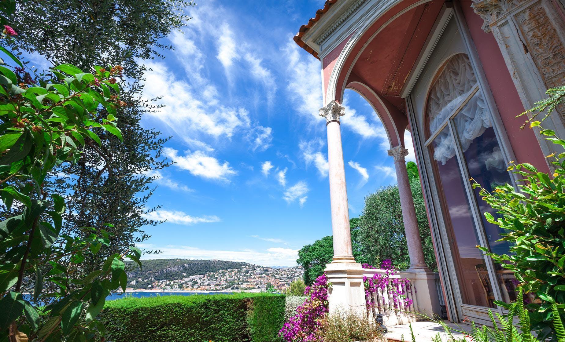 Private Rothschild Foundation and Villa Kérylos