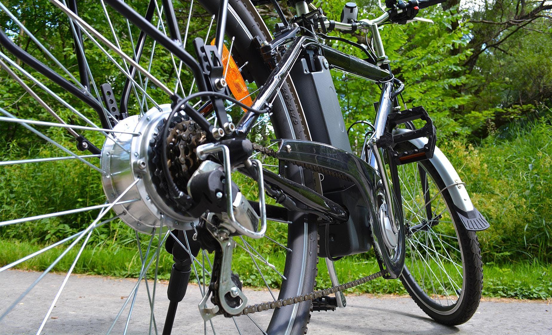 E-Biking in the Parks