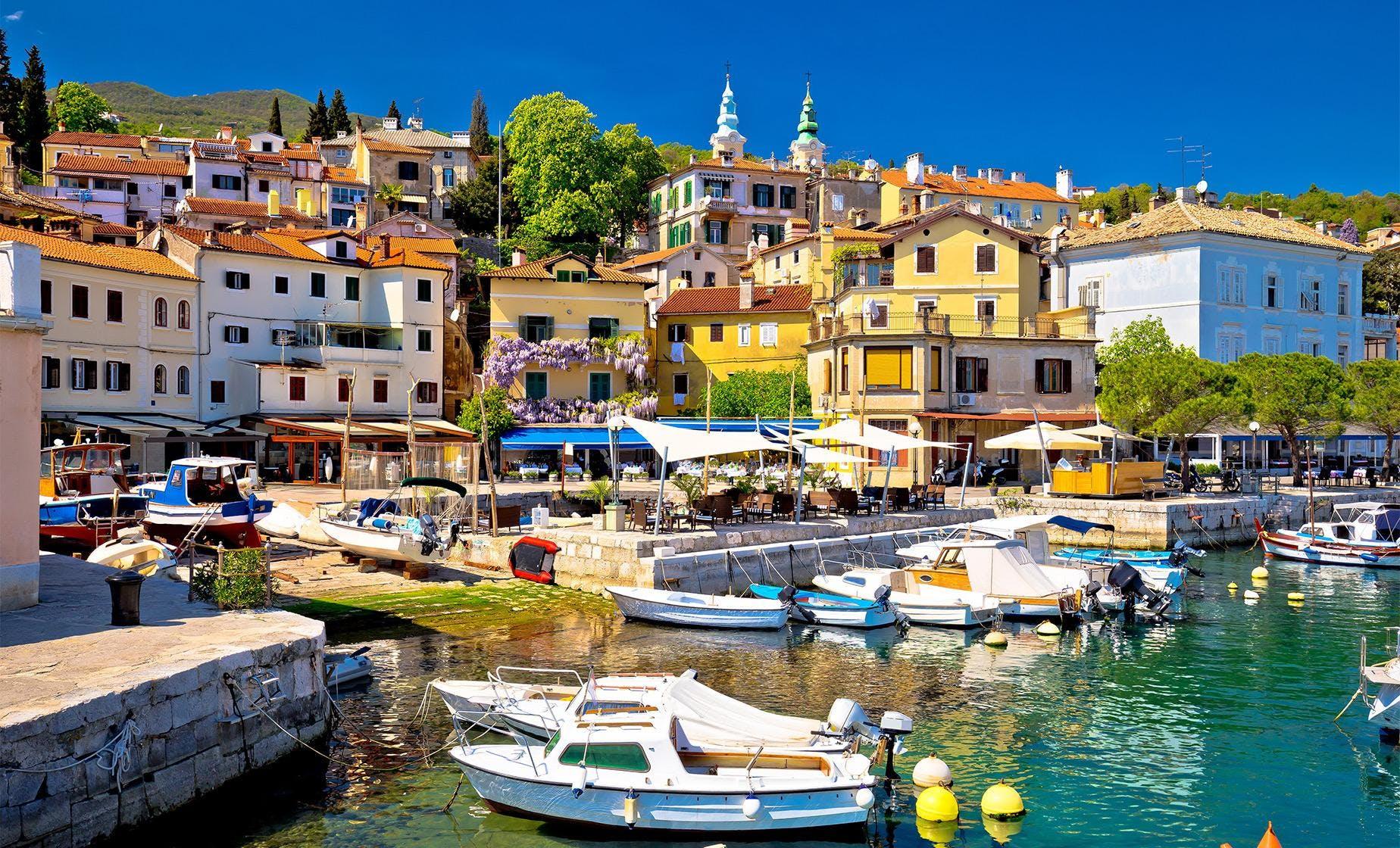 Rijeka, Trsat Castle and Opatija