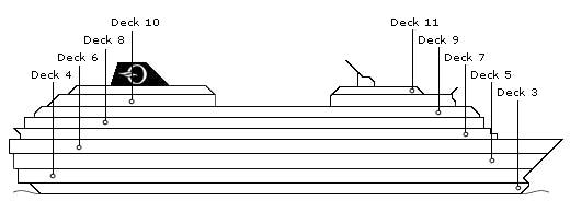 Regatta deck plans
